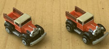 LOT (2) MICRO MACHINES FORD 1920's MODEL T PICKUP # 1