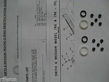 Smith & Wesson 78G 79G Pistol - TWO Seal Kits + Expl View + Parts List + Guide