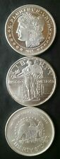 Three 1oz Silver Rounds