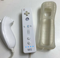 Nintendo Wii Wiimote Remote Controller RVL-003 and Nunchuck,White OEM 1