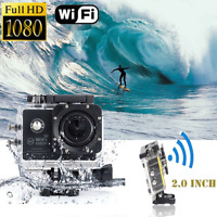 """2"""" WIFI Waterproof 1080P HD Action Camera Sports DV Pro Camcorder Car Cam DVR"""