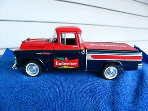 1957 Chevrolet Pickup Budweiser Coin Bank by SpecCast
