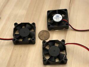 3 Piece 3510 Gdstime 5V 2pin 35x35x10mm DC Cooling Fan 35mm brushless C9
