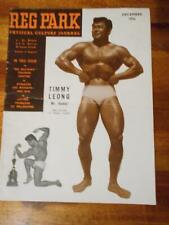 THE REG PARK JOURNAL muscle bodybuilding magazine TIMMY LEONG 12-56