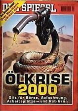 SPIEGEL 39/2000 Die Ölkrise im Jahr 2000