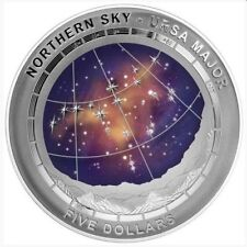 2016 Northern Sky causes Major $5 Silver Domed coin-UNC