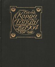 High School Yearbook Springfield Massachusetts MA Central HS Kappa Annual 1904