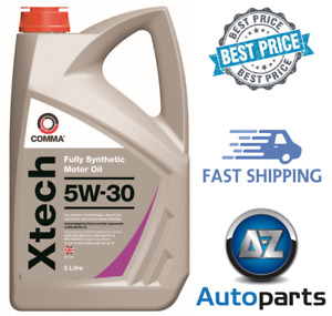 Comma - Xtech Motor Oil Car Engine Performance 5W-30 Fully Synthetic FS - 5L