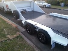 Car Trailer, Fully Hydraulic Tilt Bed 5.3 METERS x 2 METERS  ,FULL NOSE CONE