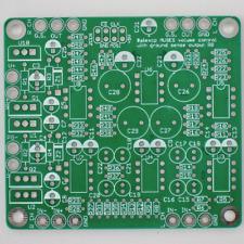 DIY PCB: MUSES 72320 Volume Control, Balanced In, Balanced/Ground Sensing Output