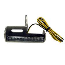 Motorrad LED Blinker und Halter Set zur Stoßdämpfer Montage