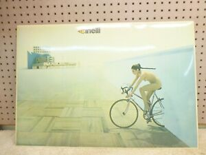 "Vintage ""Original"" Cinelli ""Naked Lady"" Display Poster"
