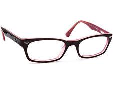 Ray Ban Eyeglasses RB 5150 2126 Brown on Purple Rectangular Frame 50[]19 135