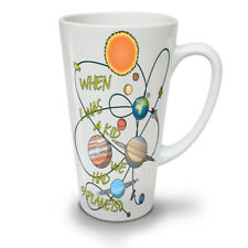 When I Was A Kid NEW White Tea Coffee Latte Mug 12 17 oz | Wellcoda