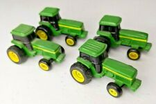Set of 4 ERTL John Deere Tractor Diecast Miniature 1.5