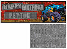 Creative Converting Mudslinger Giant Party Banner With Stickers 1 One Size Fit