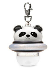 Bath and Body Works SPACE PANDA Light-Up POCKETBAC Holder W/Keychain