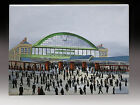 ORIGINAL FINE ART OIL PAINTING BY P J NORMAN *MANCHESTER CENTRAL RAILWAY 1906
