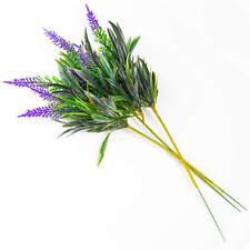 3 x Kunstblume Lavendel 33 cm Kunstzweig Künstlicher Zweige Deko Lavendelbusch