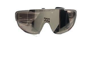 POC Do Blade Sunglasses - Hydrogen White, Violet/Silver-Mirror Lens