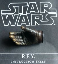Hot Toys Rey Star Wars Right Hand MMS336 Force Awakens Skywalker Brand New 1/6 3