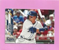 2020 Topps 582 Montgomery Club Foil Stamp #548 Brian O'Grady RC Tampa Bay Rays