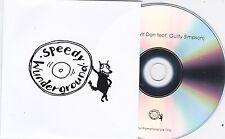 MR DAN I'M GONE RARE 1 TRACK PROMO CD [GUILTY SIMPSON / SPEEDY WUNDERGROUND]