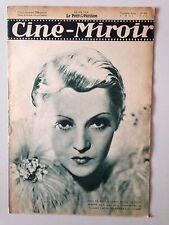 CINE MIROIR N°474 4 MAI 1934 KATE DE NAGY