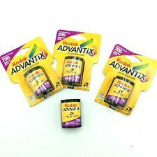 Lot of 4 Kodak Advantix 200 Color Print 25 Exp Film Rolls Expired 6/2003