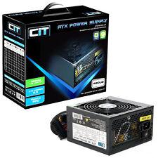 CIT 480 W Black Edition PSU 12cm único 12 V CE PFC Modelo 480ub Pc fuente de alimentación