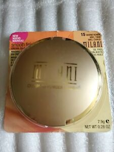 Milani Smooth Finish Cream To Powder Makeup #15 Warm Honey  new