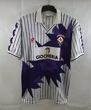 Fiorentina Away Football Shirt 1991/92 Adults XL Lotto B92