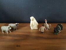 Britains Plastic Zoo Wild Animal Vundle Vintage Penguin Pelican Polar Bear