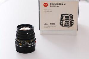 Leica Summicron M 1:2/50 mm 11819 mit Box