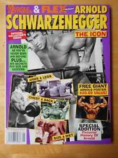 MUSCLE & FITNESS and FLEX bodybuilding magazine ARNOLD SCHWARZENEGGER The Icon