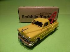 BROOKLIN MODELS BRK 31z PONTIAC PICK-UP1959 MODEL GARAGE REDRUTH Ltd- 1:43 -NMIB