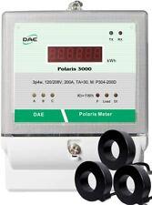DAE P304-200D-S KIT,UL 200A,120/208v,Multi-function meter,3P4W,3CT,RS485,Demand