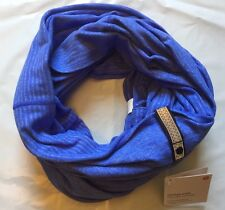 NWT Lululemon Vinyasa Scarf - MQSH Blue Mini Check Pique READ SHIP