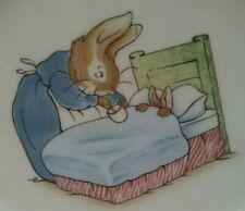 Beatrix Potter Wedgwood Peter Rabbit Vintage Plate 74 ENGLAND Barlaston Etruria