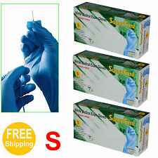 300pcs Disposable Powder-Free Nitrile Medical Exam Gloves (Latex Free) Small