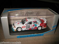 1.43 MINICHAMPS MERCEDES BENZ 190 EVO 2  S GRAU DTM 1993 #20 AWESOME OLD STOCK