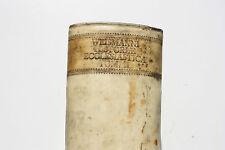 Christian Eberhard Weismann, rare latin book, 1745