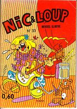 NIC ET LOUP N°33 DE 1970 EDITIONS DE LUTECE