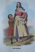 Clan Matheson - Scottish Tartan Art Print - MATTED