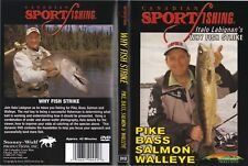 Why Fish Strike Pike Bass Walleye Fishing Techniques DVD NEW