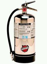 Buckeye K Class Fire Extinguisher, 50006, Bilingual Sign Included