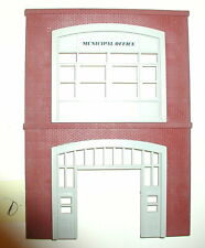 """STORE/BUSINESS STRUCTURE FIRE STATION BUILDING FRONT """"D""""  O SCALE"""