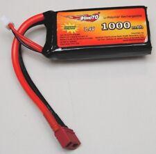 Pacco Batteria Li-Po HIMOTO 1000mAh 2S 7,4v 45c/90c Burst/PACK BATTERY HIMOTO