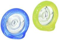 Nuby 2 Piece Natural Flex Silicone Oscillating Cherry Pacifier, 0-6 Months
