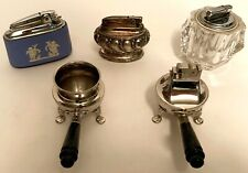 Vintage Table Lighters Five (5) Piece Lot All Mechanically Work
